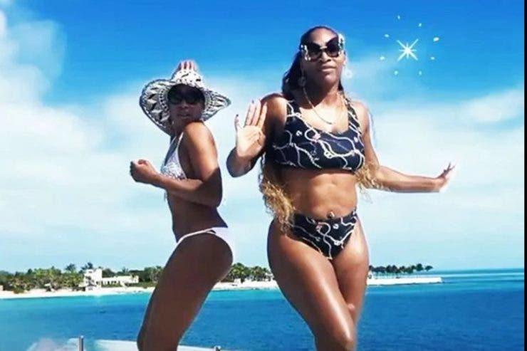 Surorile Williams, distracție pe yacht