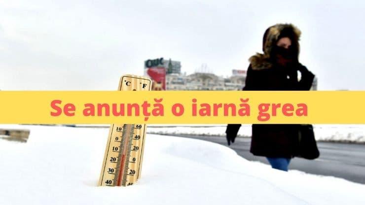 Anunț ANM! Ninsori și ger în mai multe zone ale României