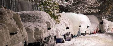 Anunț ANM. 17 județe intră sub cod galben de viscol și zăpadă