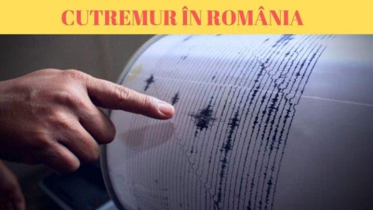 Cutremur în România. Două seisme produse în noaptea de miercuri spre joi
