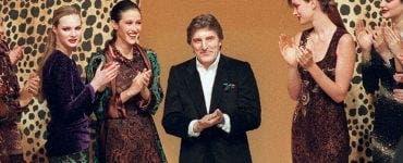 Doliu în lumea modei. Designerul francez Emanuel Ungaro a murit la 86 de ani