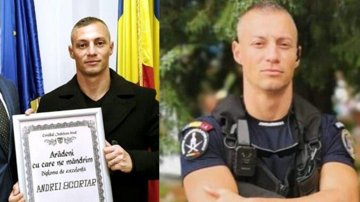 Jandarmul erou! Andrei a salvat o tânără mămică de la înec