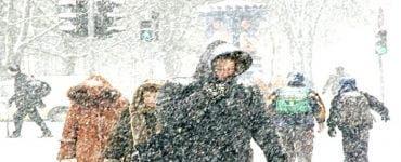 Alertă ANM. Cod GALBEN de ninsori în 3 județe