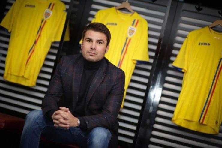 Adrian Mutu, noul selecționer U21, prezentat oficial