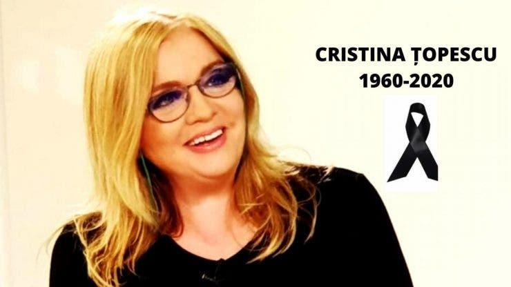 """Monica Pop, dezvăluire șocantă: """"Cristina Țopescu a făcut stop cardiac"""""""