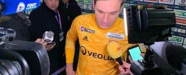 Ciprian Tătărușanu, omul meciului! Şi-a calificat echipa în finala Cupei Ligii Franței
