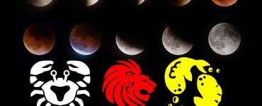 Eclipsă de lună 10 ianuarie 2020