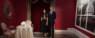 Madame Tussauds va separa figurile din ceară ale ducilor de Sussex de cele ale membrilor familiei regale