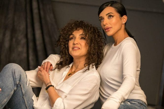 Nico și fiica ei, Alexandra