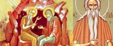 Calendar Ortodox 15 ianuarie 2020. Pomenirea preacuviosului părinte Pavel Tebeul