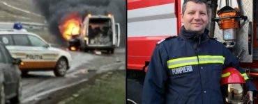 """Pompierul care a salvat o viață în timpul liber: """"Să dea Dumnezeu să trăiască! Eu nu am făcut nimic special"""""""