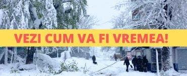 Prognoza meteo în intervalul 20 ianuarie-17 februarie. Se anunță ninsori în România