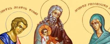 Calendar ortodox 3 februarie 2020. Sfântul Simeon, primitorul lui Dumnezeu