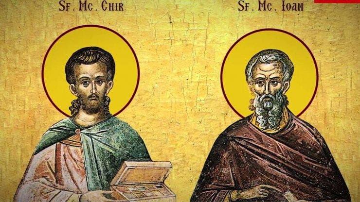 Calendar ortodox 31 ianuarie 2020. Sunt prăznuiți Sfinții Chir și Ioan