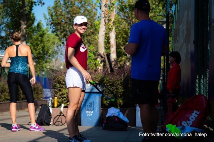 Simona Halep primul tur la Australian Open
