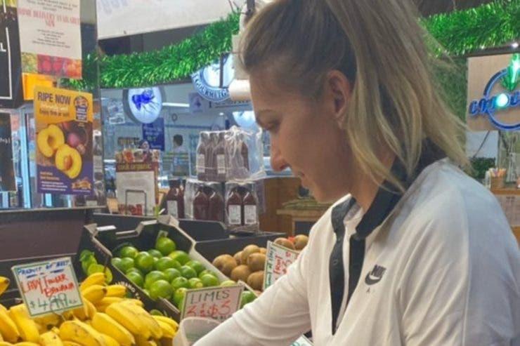 Simona Halep se relaxează înaintea turneului