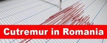 a fost cutremur în România
