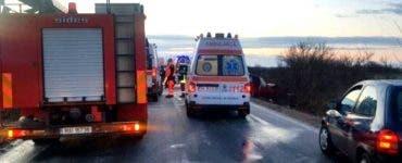 Accident mortal în Timiș. Două persoane au murit, iar cinci au fost rănite grav