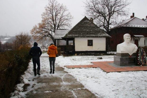 casa părintească a lui Nicolae Ceaușescu din Scornicești