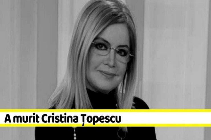 ultima conversație a Cristinei Țopescu