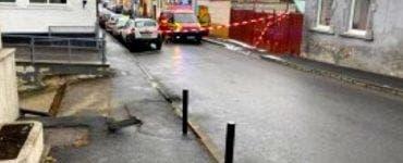 Explozie sub o șosea din Brașov. Zona a fost izolată