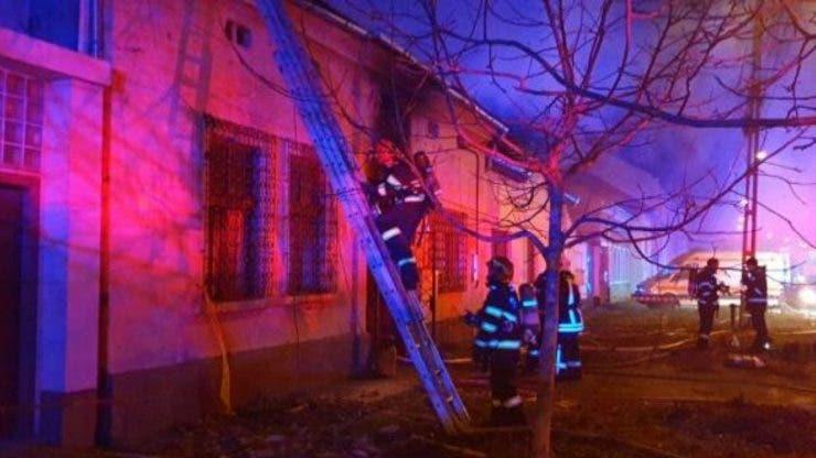 Tragedie în Timișoara! Patru copii au murit carbonizați în urma unui incendiu