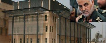 Ambasada SUA din Irak a fost atacată cu trei rachete