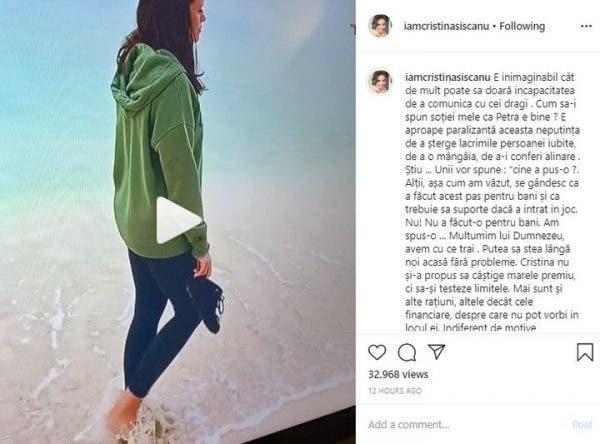 Mădălin Ionescu Postare Instagram