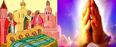 Calendar ortodox 22 februarie 2020. Aflarea moaștelor Sfinților Mucenici din Evghenia