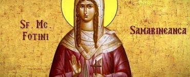 Calendar ortodox 26 februarie 2020. Sfânta Fotini, mucenița cea luminătoare