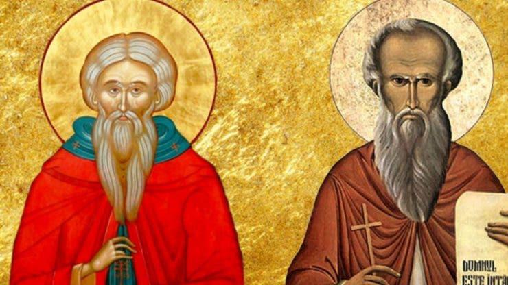 Calendar ortodox 28 februarie 2020. Cruce neagră-Sfinții Cuvioși Ioan Casian și Gherman