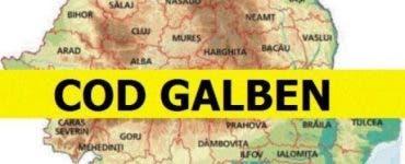 Cod portocaliu şi galben în 27 de județe din România