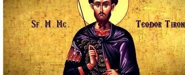 Calendar ortodox 17 februarie 2020. Viața Sfântului Mucenic Teodor Tiron