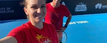 Simona Halep s-a retras de la Qatar Open