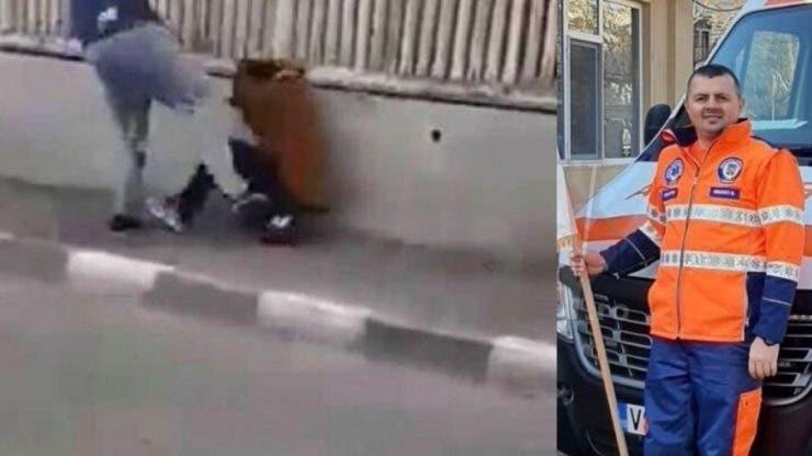 Copil de 12 ani bătut cu bestialitate de un ambulanțier