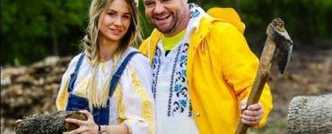 """Grațiela Duban s-a apropiat prea mult de Ghiță, în timpul emisiunii """"Survivor România"""""""