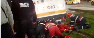Un bărbat din Iași a murit călcat de tramvai. Victima a trecut strada printr-un loc nepermis