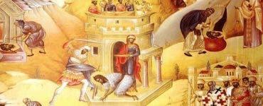 Calendar ortodox 24 februarie 2020. Crucea Neagră - Întâia şi a doua aflare a capului Sfântului Proroc Ioan Botezătorul