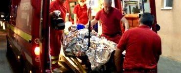 Caz șocant în Vrancea. Un bărbat și-a incendiat soția