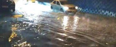 Pasajul Pipera din Capitală a fost inundat. Ce se întâmplă de fapt