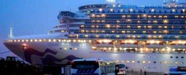 Doi pasageri de pe nava de lux Diamond Princess au murit din cauza noului virus