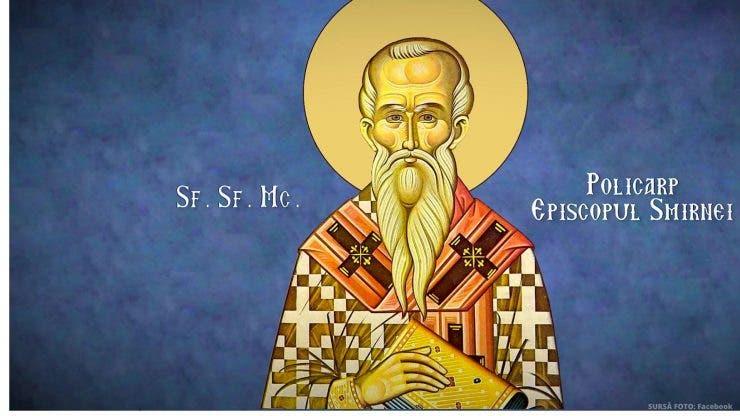 Calendar ortodox 23 februarie 2020. Sfântul Policarp, cel cu multe roade