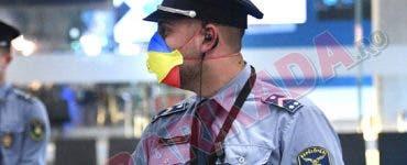 măști cu tricolorul românesc