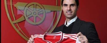 Antrenorul lui Arsenal, depistat povitiv