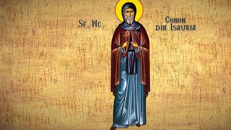 Calendar ortodox 5 martie 2020. Sfântul Mucenic Conon din ...