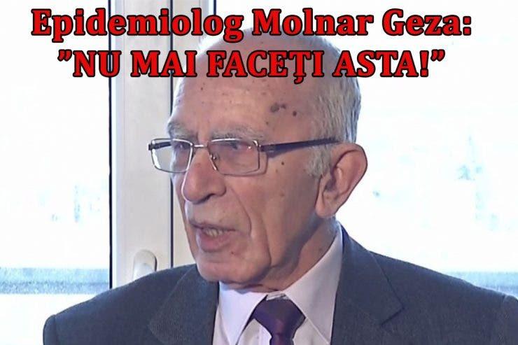 Epidemiologul roman Molnar Geza, semnal de alarmă! Alimentele care NU trebuie consumate în PANDEMIE