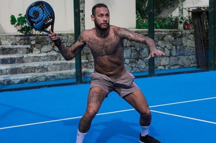 Neymar se distrează de minune