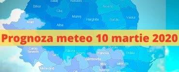 Prognoza meteo 10 martie 2020. Cum va fi vremea mâine