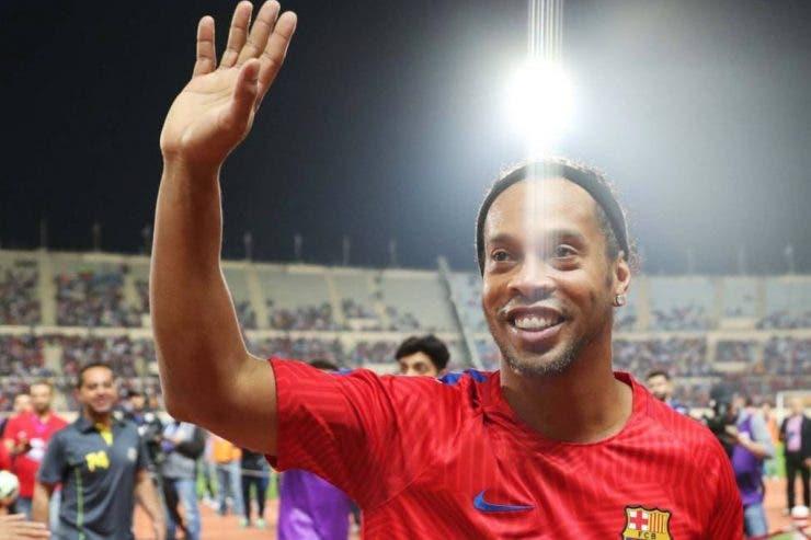 Ronaldinho a fost reţinut din nou în Paraguay