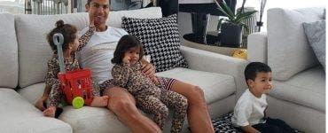 Ronaldo, cu familia la plimbare